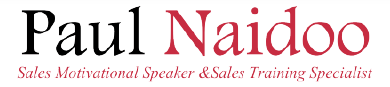 Paul Naidoo - Sales Motivational Speaker & Sales Training Specialist